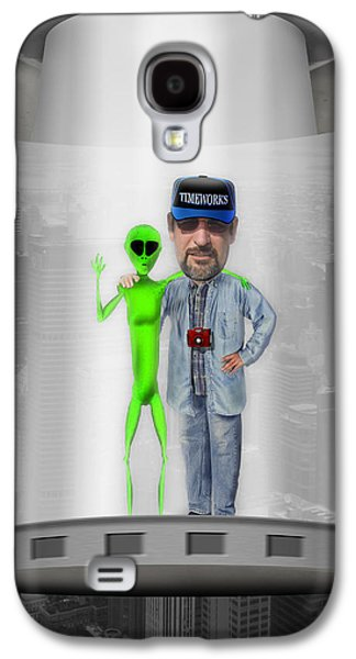 Alien Galaxy S4 Cases - Hangin with G Galaxy S4 Case by Mike McGlothlen