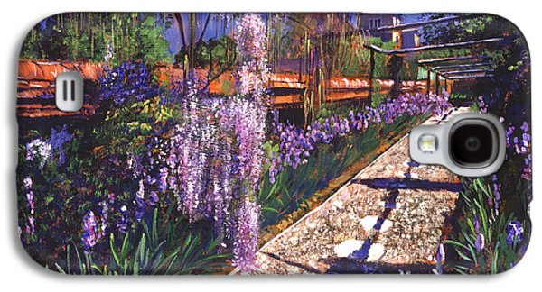 Pathway Paintings Galaxy S4 Cases - Hanging Garden Galaxy S4 Case by David Lloyd Glover