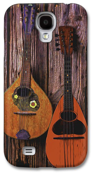 Hand Made Galaxy S4 Cases - Hanging Mandolins Galaxy S4 Case by Garry Gay