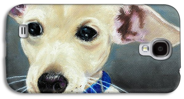Puppies Galaxy S4 Cases - Hank Galaxy S4 Case by Jeanne Fischer