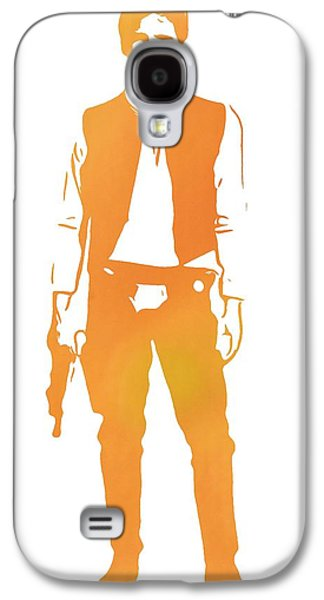 Star Alliance Galaxy S4 Cases - Hans Solo Star Wars Galaxy S4 Case by Dan Sproul