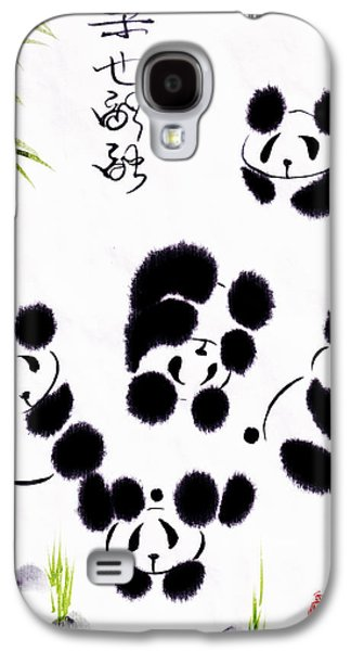 Cheerful Galaxy S4 Cases - Happiness Is Getting Along Galaxy S4 Case by Oiyee  At Oystudio