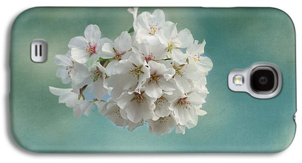 Cherry Blossoms Galaxy S4 Cases - Happiness Is Galaxy S4 Case by Kim Hojnacki