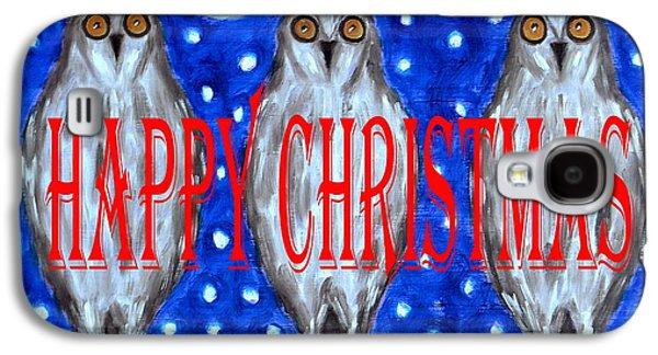 Wildlife Celebration Galaxy S4 Cases - Happy Christmas 94 Galaxy S4 Case by Patrick J Murphy