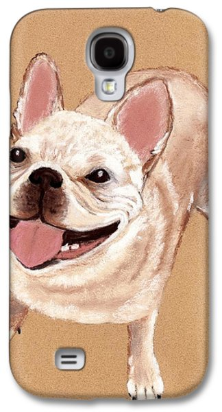 Breed Galaxy S4 Cases - Happy Dog Galaxy S4 Case by Anastasiya Malakhova