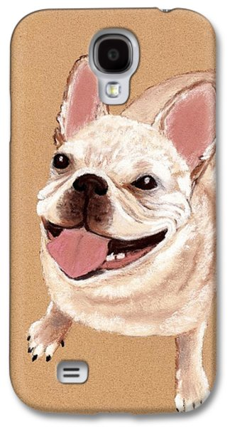 Happy Dog Galaxy S4 Case by Anastasiya Malakhova