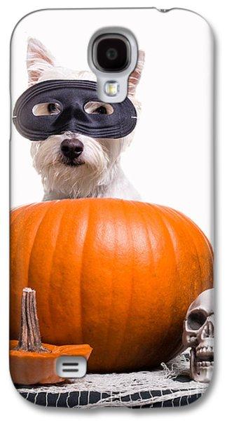 Halloween Photographs Galaxy S4 Cases - Happy Halloween Galaxy S4 Case by Edward Fielding