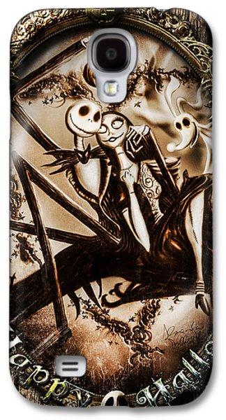Nightmare Digital Art Galaxy S4 Cases - Happy Halloween III sepia version Galaxy S4 Case by Alessandro Della Pietra