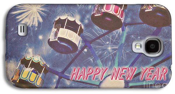 Happy New Year Galaxy S4 Case by Angela Doelling AD DESIGN Photo and PhotoArt