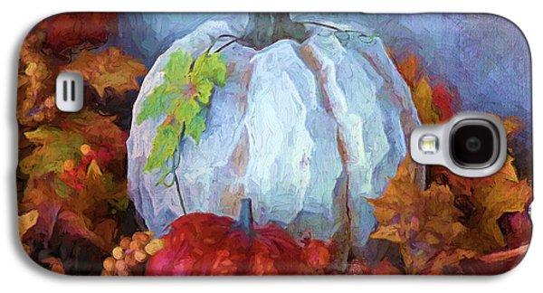 """indoor"" Still Life Digital Galaxy S4 Cases - Happy Thanksgiving - Seasonal Art Galaxy S4 Case by Jordan Blackstone"