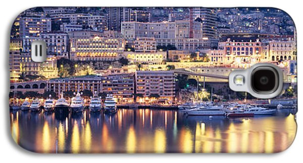 Brightly Galaxy S4 Cases - Harbor Monte Carlo Monaco Galaxy S4 Case by Panoramic Images