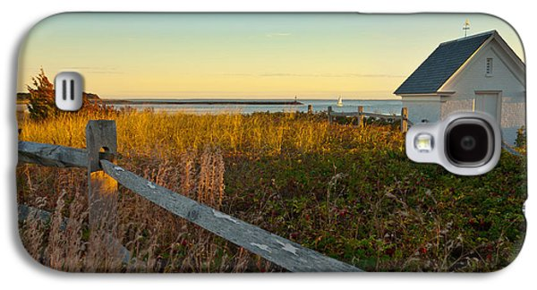 New England Barns Galaxy S4 Cases - Harbor Shed Galaxy S4 Case by Bill  Wakeley