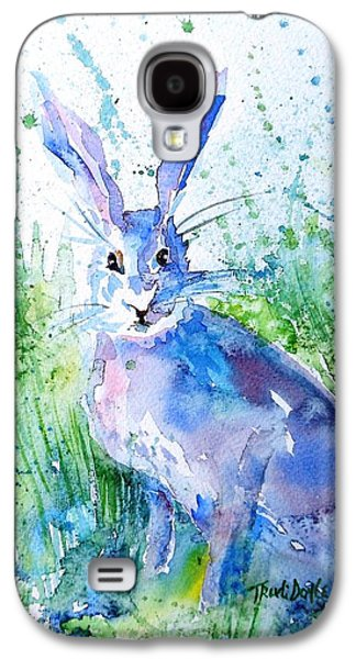 Hare Stare Galaxy S4 Case by Trudi Doyle