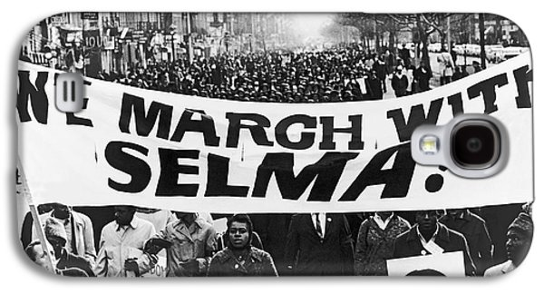 Harlem Supports Selma Galaxy S4 Case by Stanley Wolfson