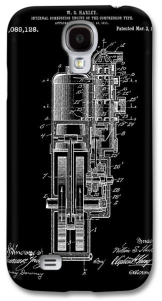 Mechanics Mixed Media Galaxy S4 Cases - Harley Davidson Internal Combustion Engine Galaxy S4 Case by Dan Sproul