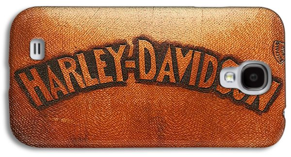 Harley Davidson Leather Tool Bag  Galaxy S4 Case by Stefano Senise