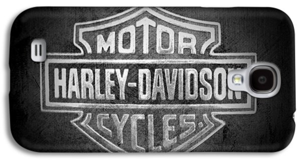 Jeff Swanson Galaxy S4 Cases - Harley Davidson Motorcycle Galaxy S4 Case by Jeff Swanson