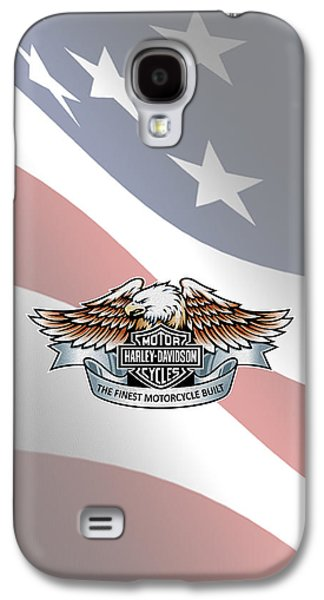 Harley Davidson Galaxy S4 Cases - Harley Davidson Phone Case Galaxy S4 Case by Mark Rogan