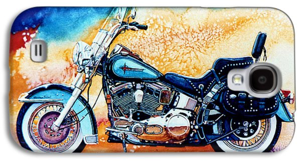 Harley Hog I Galaxy S4 Case by Hanne Lore Koehler
