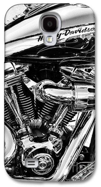 Harley Monochrome Galaxy S4 Case by Tim Gainey