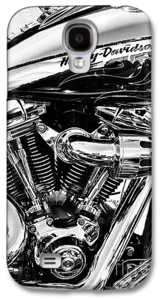 Harley Davidson Galaxy S4 Cases - Harley Monochrome Galaxy S4 Case by Tim Gainey