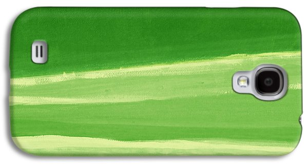 Harmony In Green Galaxy S4 Case by Linda Woods