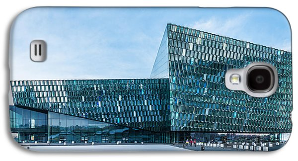 Tourism Galaxy S4 Cases - Harpa Concert Hall Galaxy S4 Case by Duane Miller