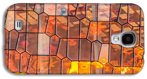 Tourism Galaxy S4 Cases - Harpa Sunset Galaxy S4 Case by Duane Miller
