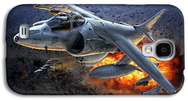 Iraq Galaxy S4 Cases - Harrier By Night Galaxy S4 Case by Stu Shepherd