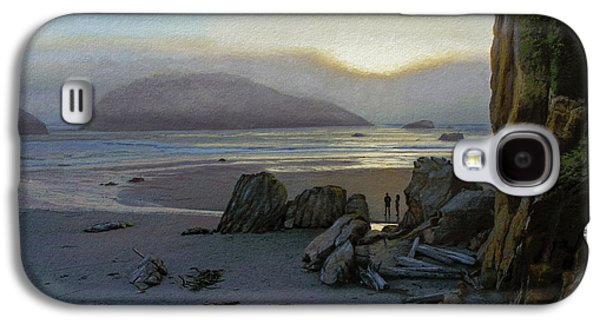 Layer Galaxy S4 Cases - Harris Beach Rendezvous Galaxy S4 Case by Paul Krapf