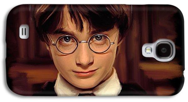 Book Of Daniel Galaxy S4 Cases - Harry Potter Galaxy S4 Case by Paul Tagliamonte