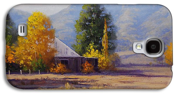 Shed Galaxy S4 Cases - Hartley Autumn Galaxy S4 Case by Graham Gercken