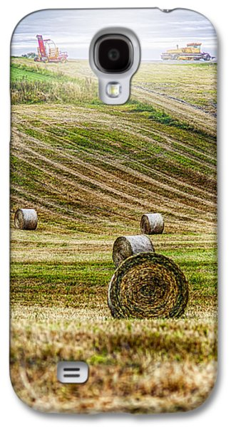 Agricultural Galaxy S4 Cases - Harvest Day Galaxy S4 Case by Erik Brede