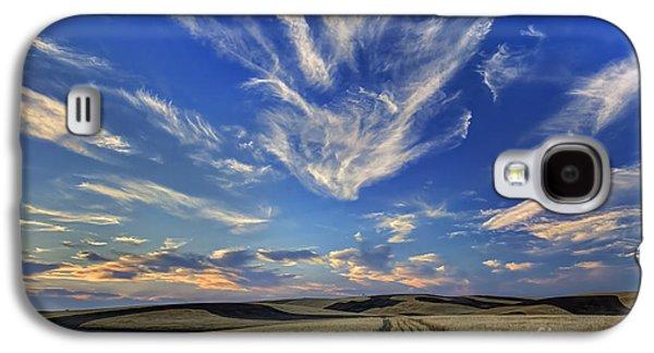 Harvest Art Galaxy S4 Cases - Harvest Sky Galaxy S4 Case by Mark Kiver