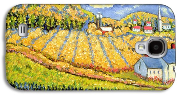 Crops Galaxy S4 Cases - Harvest St Germain Quebec Galaxy S4 Case by Patricia Eyre