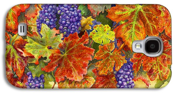 Grape Vine Galaxy S4 Cases - Harvest Time Galaxy S4 Case by Karen Wright