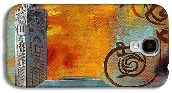Islam Galaxy S4 Cases - Hassan 2 Mosque Galaxy S4 Case by Corporate Art Task Force
