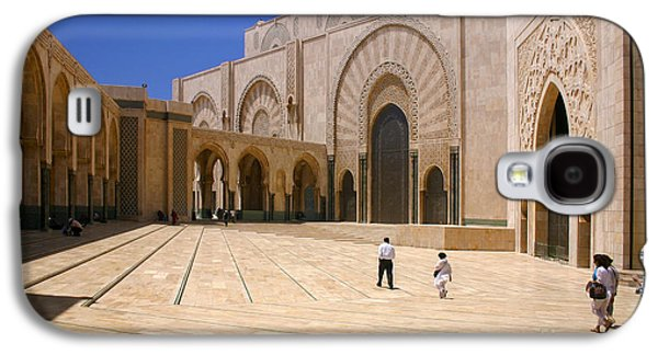 Hassan II Mosque Grand Mosque Sour Jdid Casablanca Morocco Galaxy S4 Case by Ralph A  Ledergerber-Photography