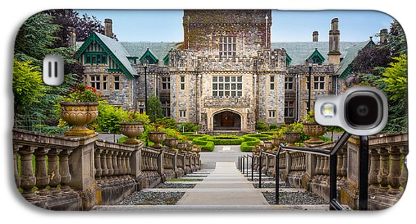Vancouver Photographs Galaxy S4 Cases - Hatley Castle Galaxy S4 Case by Inge Johnsson