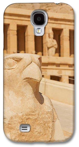 Hatchepsut Galaxy S4 Cases - Hatshepsut Temple  Galaxy S4 Case by Jaroslav Frank