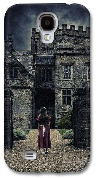 Creepy Galaxy S4 Cases - Haunted House Galaxy S4 Case by Joana Kruse