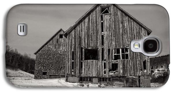 Haunted Old Barn Galaxy S4 Case by Edward Fielding