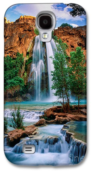 Grand Canyon Photographs Galaxy S4 Cases - Havasu Cascades Galaxy S4 Case by Inge Johnsson