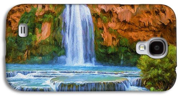 Havasu Falls Galaxy S4 Case by David Wagner