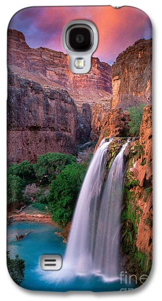 North America Galaxy S4 Cases - Havasu Falls Galaxy S4 Case by Inge Johnsson