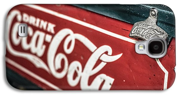 Interior Design Galaxy S4 Cases - Have a Coke and smile Galaxy S4 Case by Andy Crawford