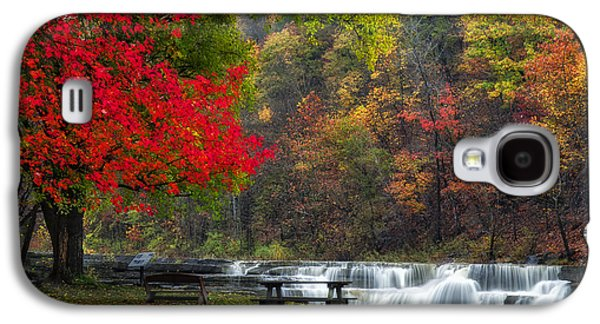 Ithaca Galaxy S4 Cases - Have a seat Galaxy S4 Case by Mark Papke