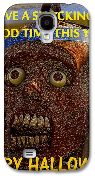 Halloween Digital Art Galaxy S4 Cases - Have a shockingly good time Galaxy S4 Case by David Lee Thompson