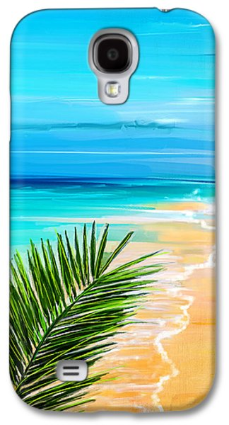 Inspired Paintings Galaxy S4 Cases - Haven Of Bliss Galaxy S4 Case by Lourry Legarde