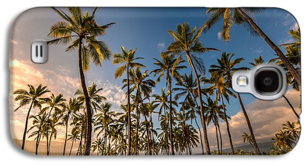 Refuge Galaxy S4 Cases - Hawaii Towering Palms Galaxy S4 Case by Mike Reid